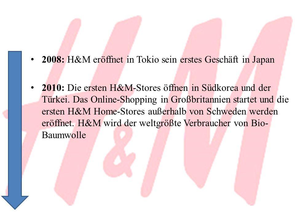 2008: H&M eröffnet in Tokio sein erstes Geschäft in Japan
