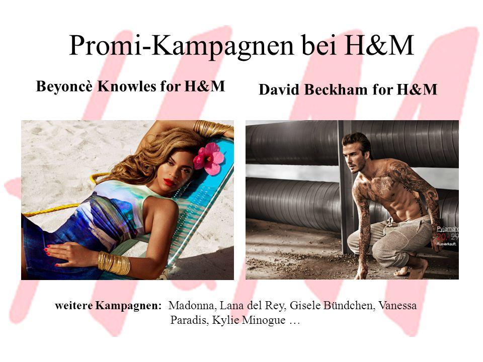 Promi-Kampagnen bei H&M