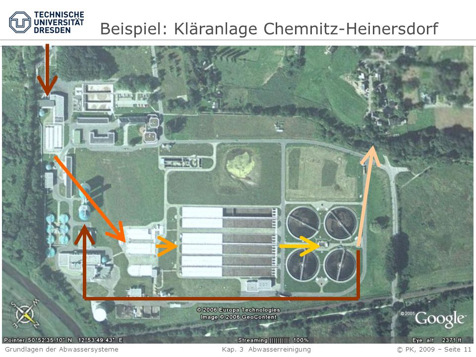 Beispiel: Kläranlage Chemnitz-Heinersdorf