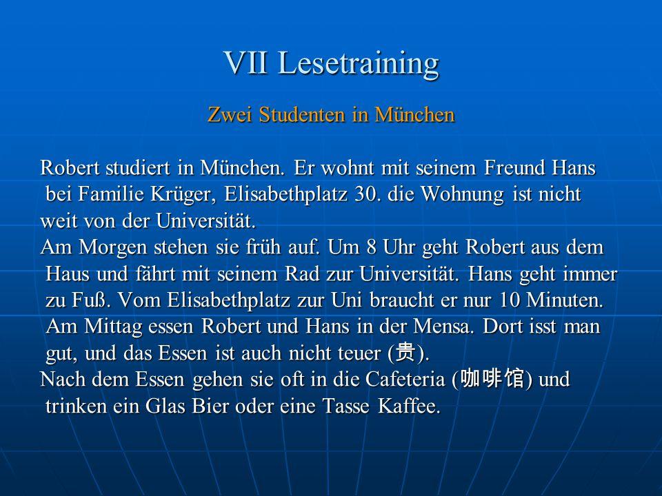 Zwei Studenten in München