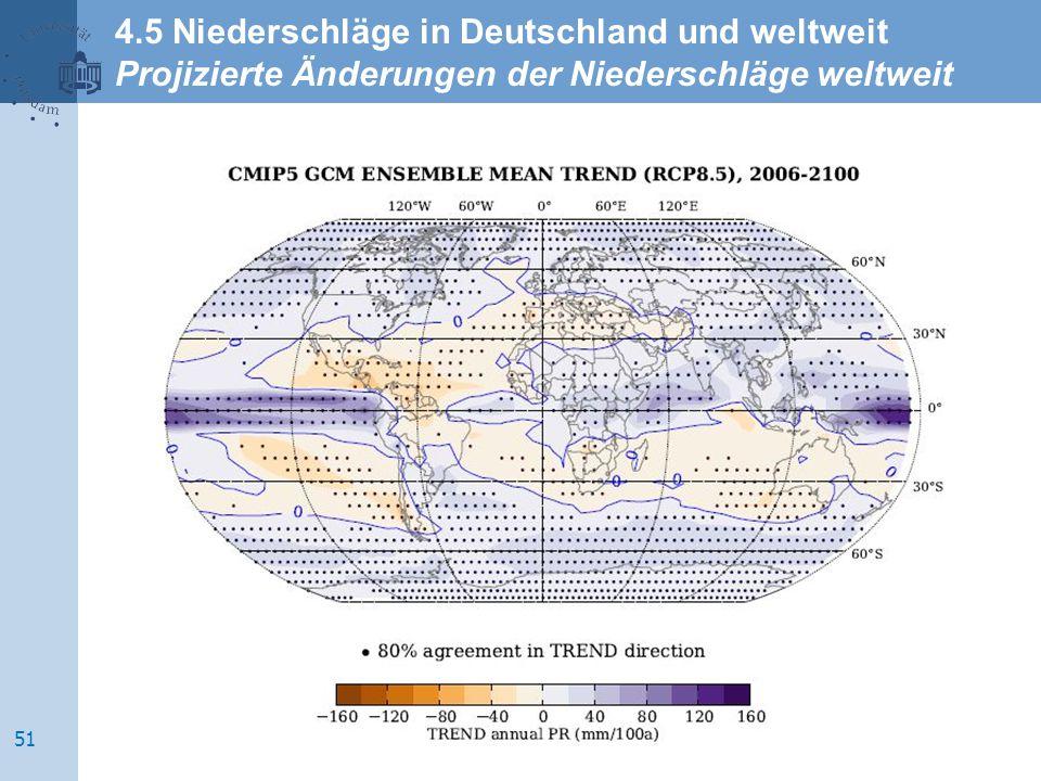 4.5 Niederschläge in Deutschland und weltweit