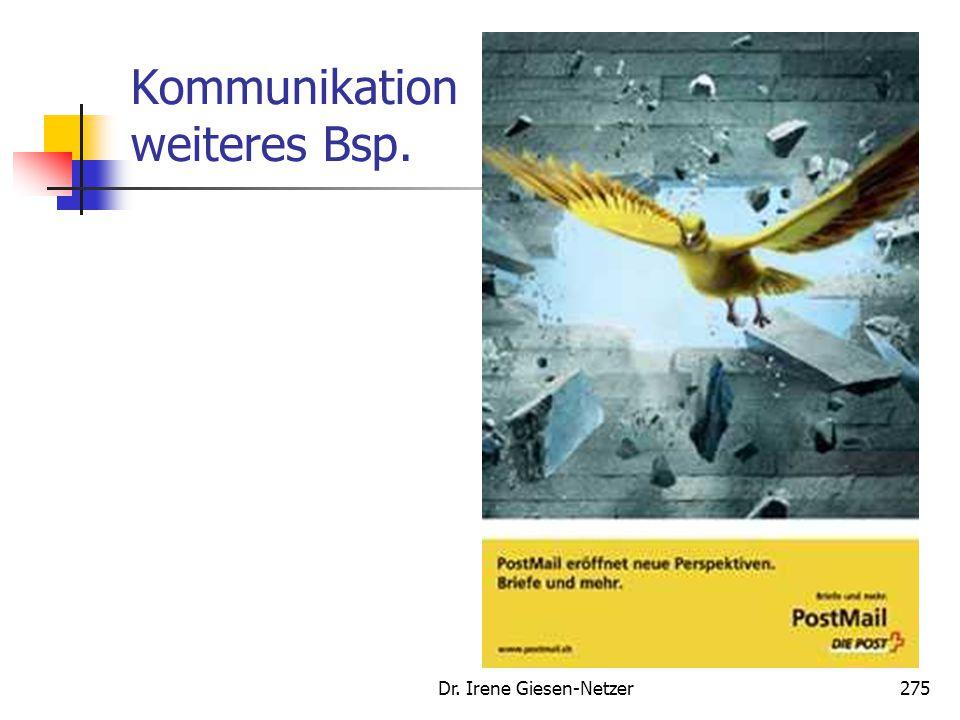 Kommunikation weiteres Bsp.