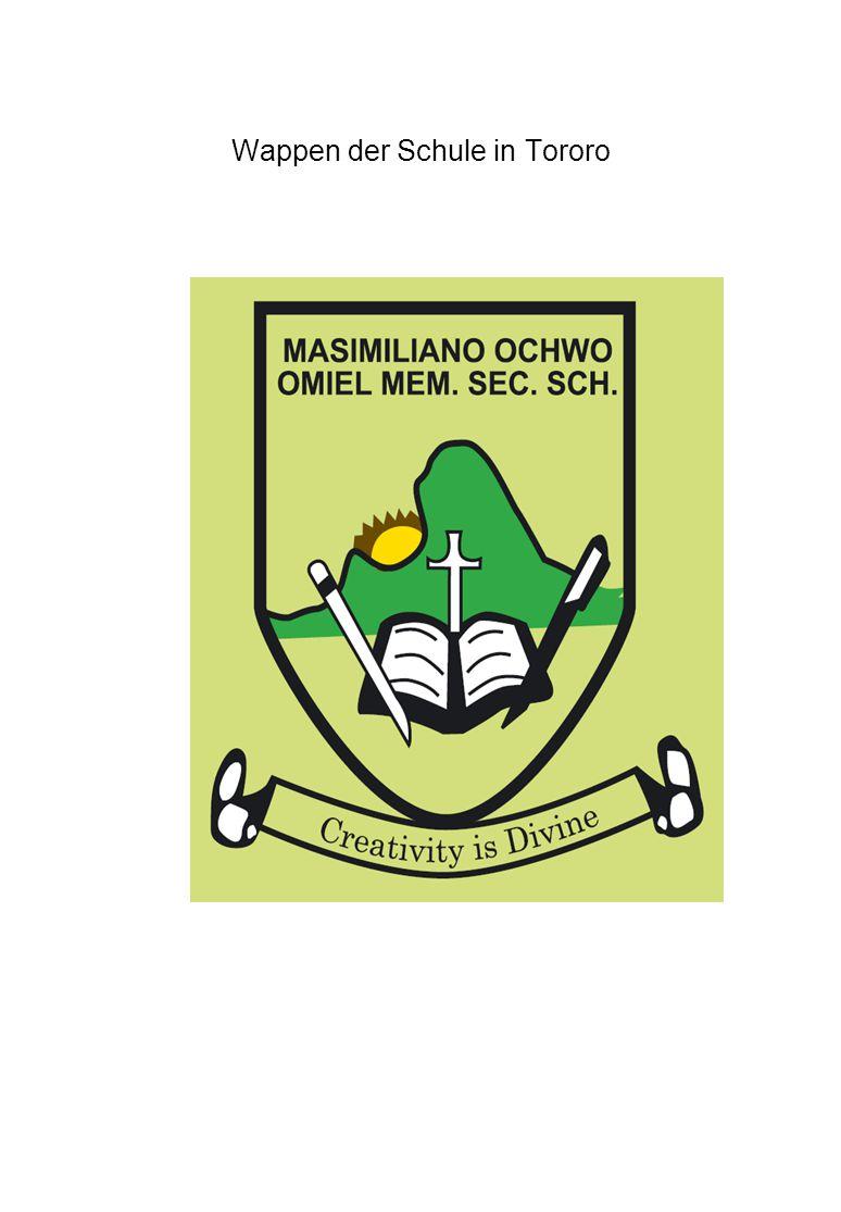 Wappen der Schule in Tororo