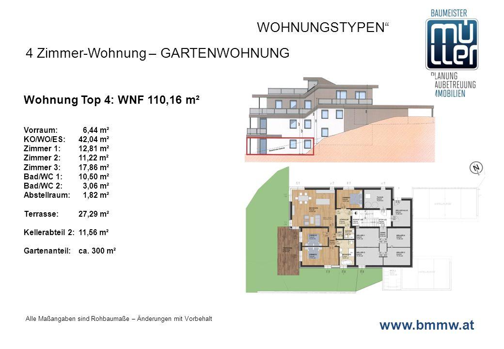 4 Zimmer-Wohnung – GARTENWOHNUNG