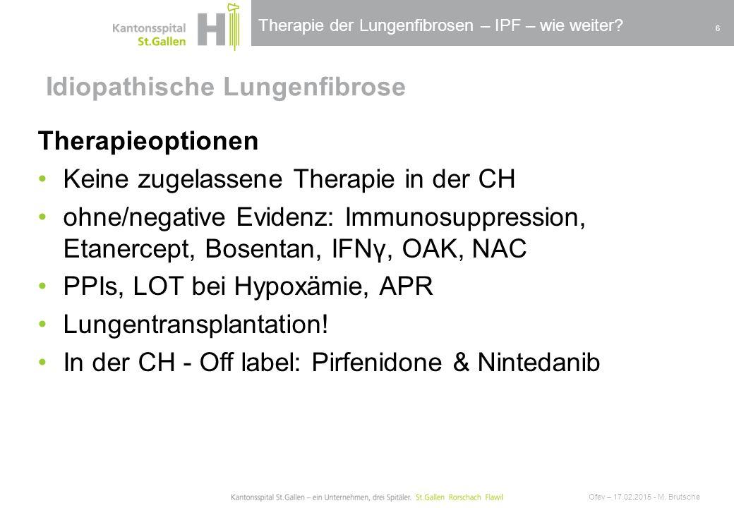 idiopathische lungenfibrose therapie