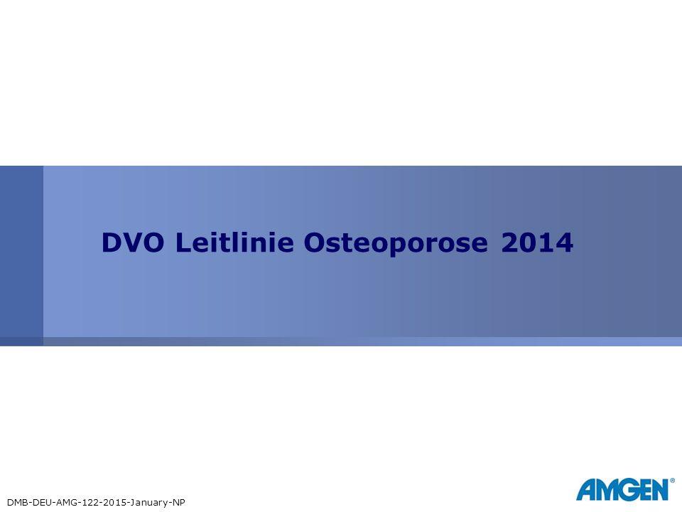 DVO Leitlinie Osteoporose 2014