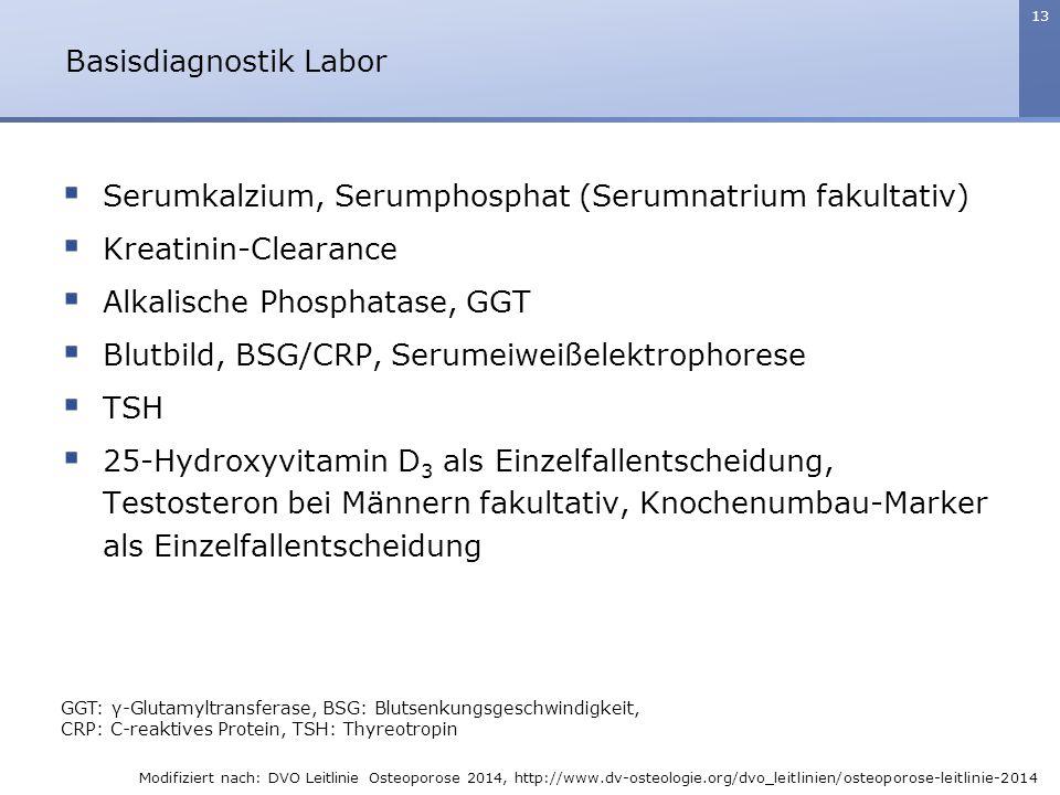 Basisdiagnostik Labor