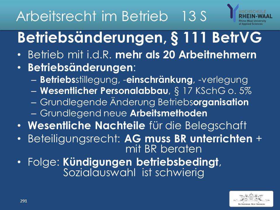 Arbeitsrecht im Betrieb 13 S