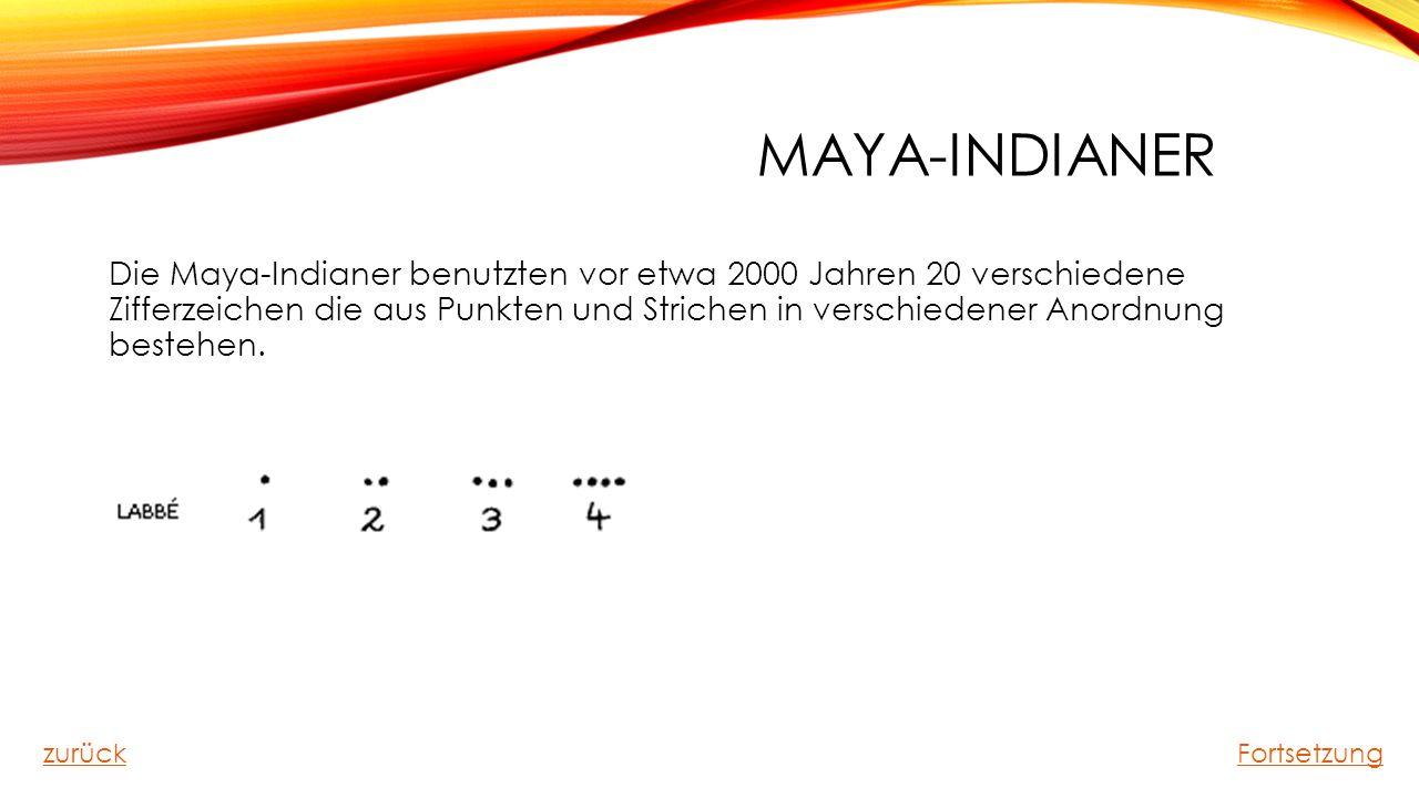 Maya-Indianer