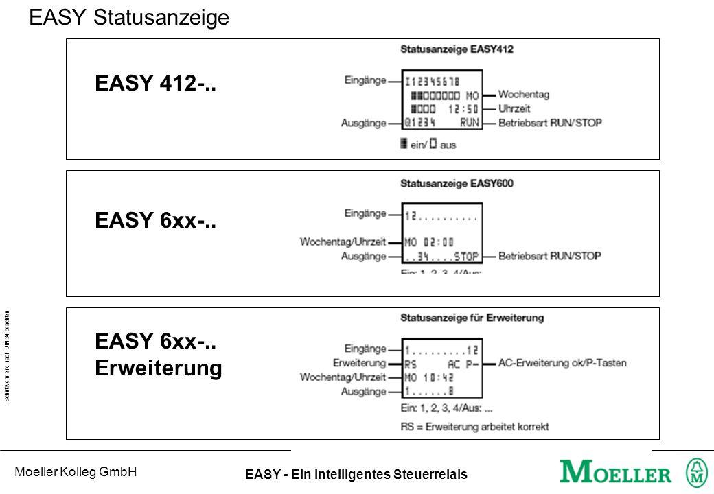 EASY Statusanzeige EASY 412-.. EASY 6xx-.. EASY 6xx-.. Erweiterung
