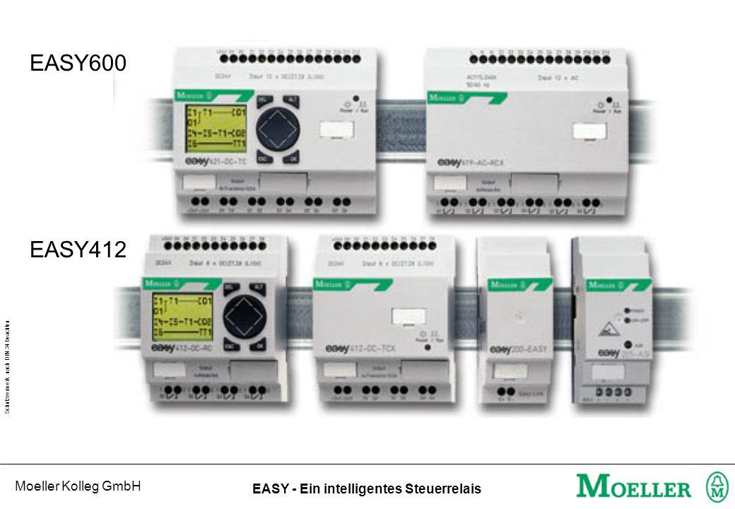 EASY600 EASY412 EASY Geräteübersicht: