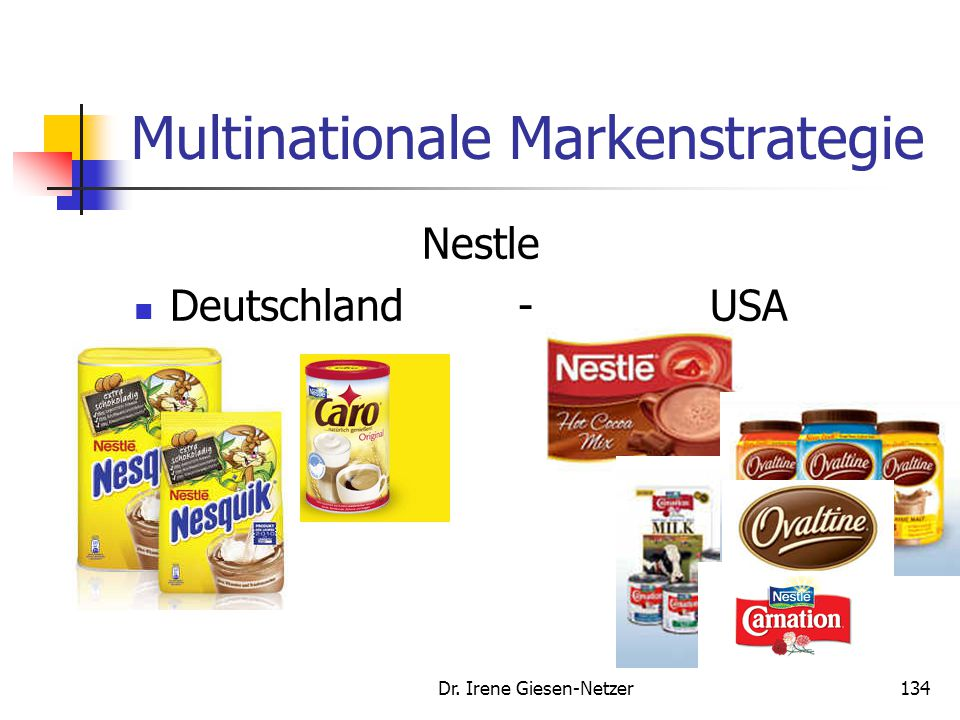Multinationale Markenstrategie