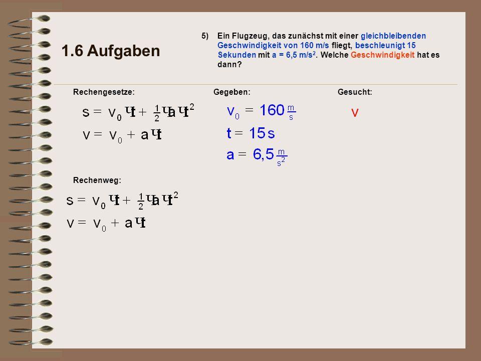 1.6 Aufgaben 5)