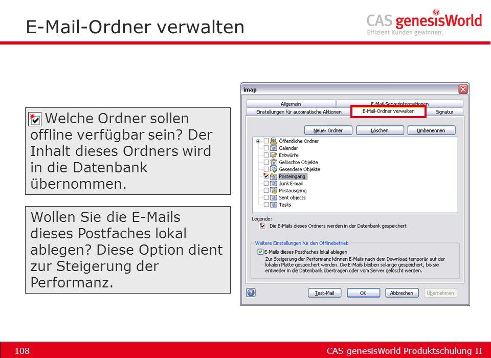 E-Mail-Ordner verwalten
