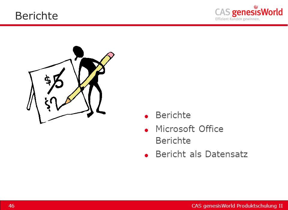 Berichte Berichte Microsoft Office Berichte Bericht als Datensatz