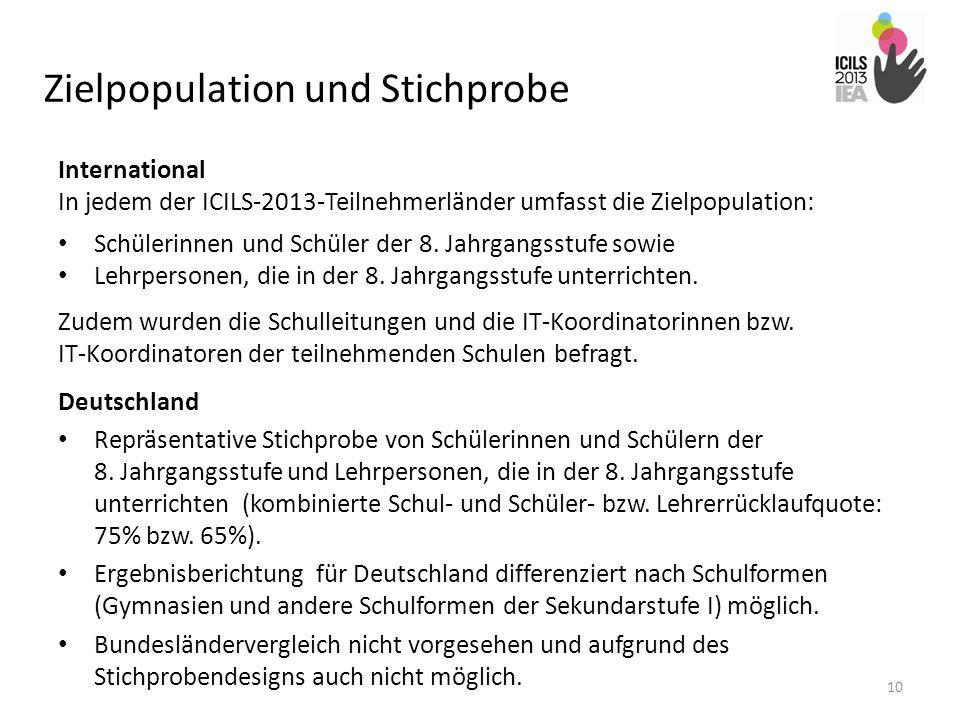 Zielpopulation und Stichprobe