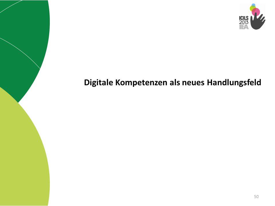 Digitale Kompetenzen als neues Handlungsfeld