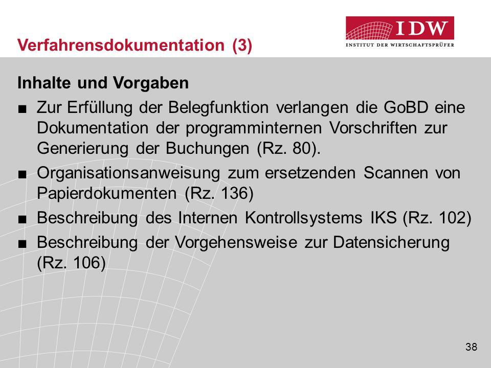 Verfahrensdokumentation (3)