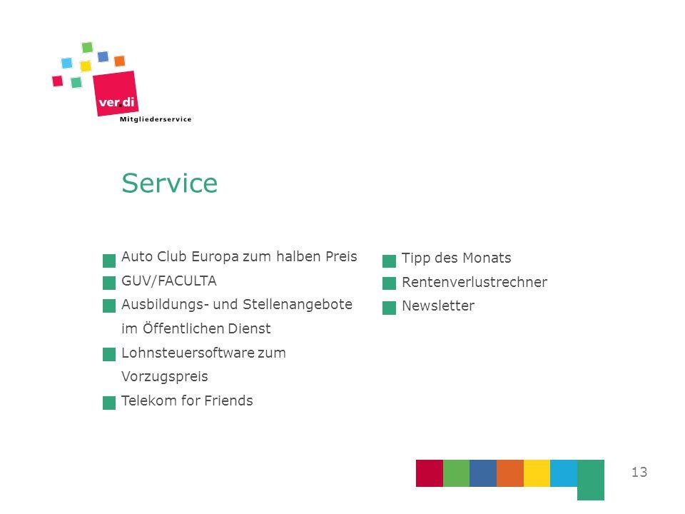 Service Auto Club Europa zum halben Preis