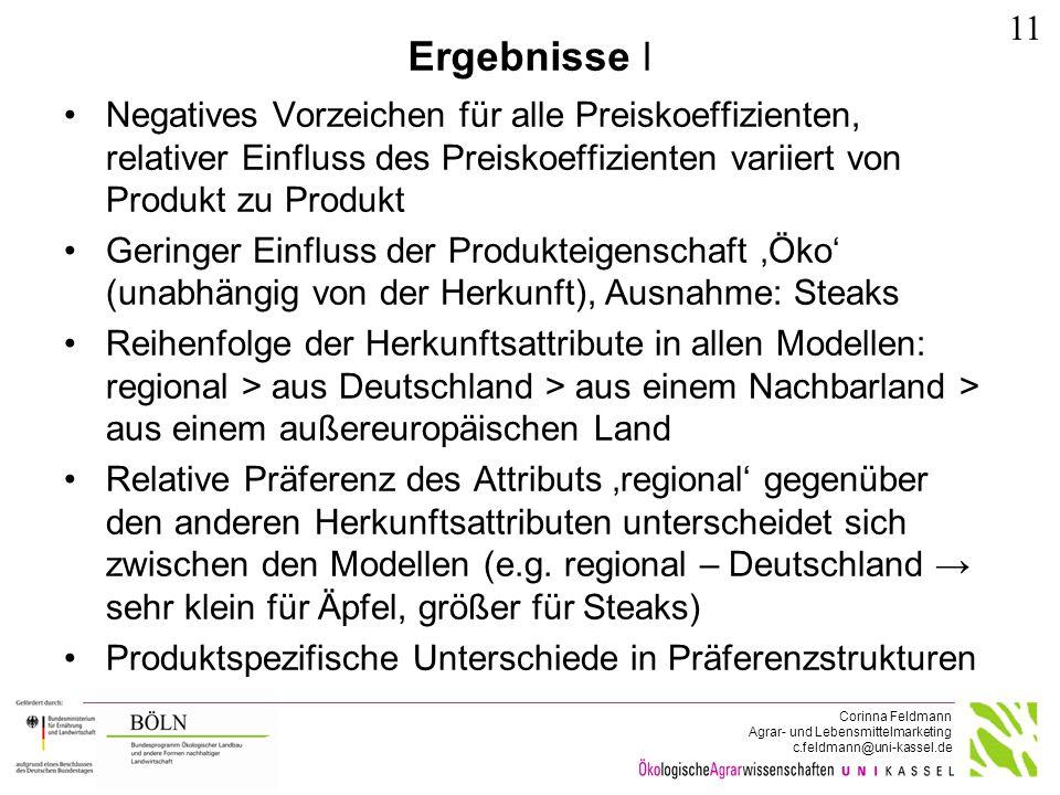 """""""Zahlungsbereitschaften (in €) für Mehl"""