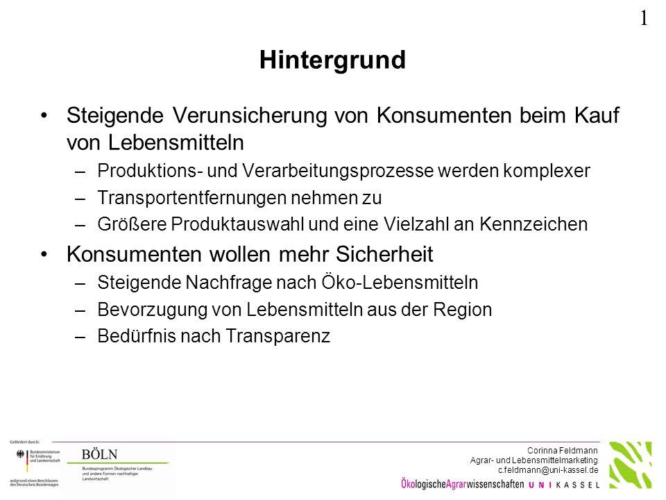 Regionalität in aktuellen Studien ǀ