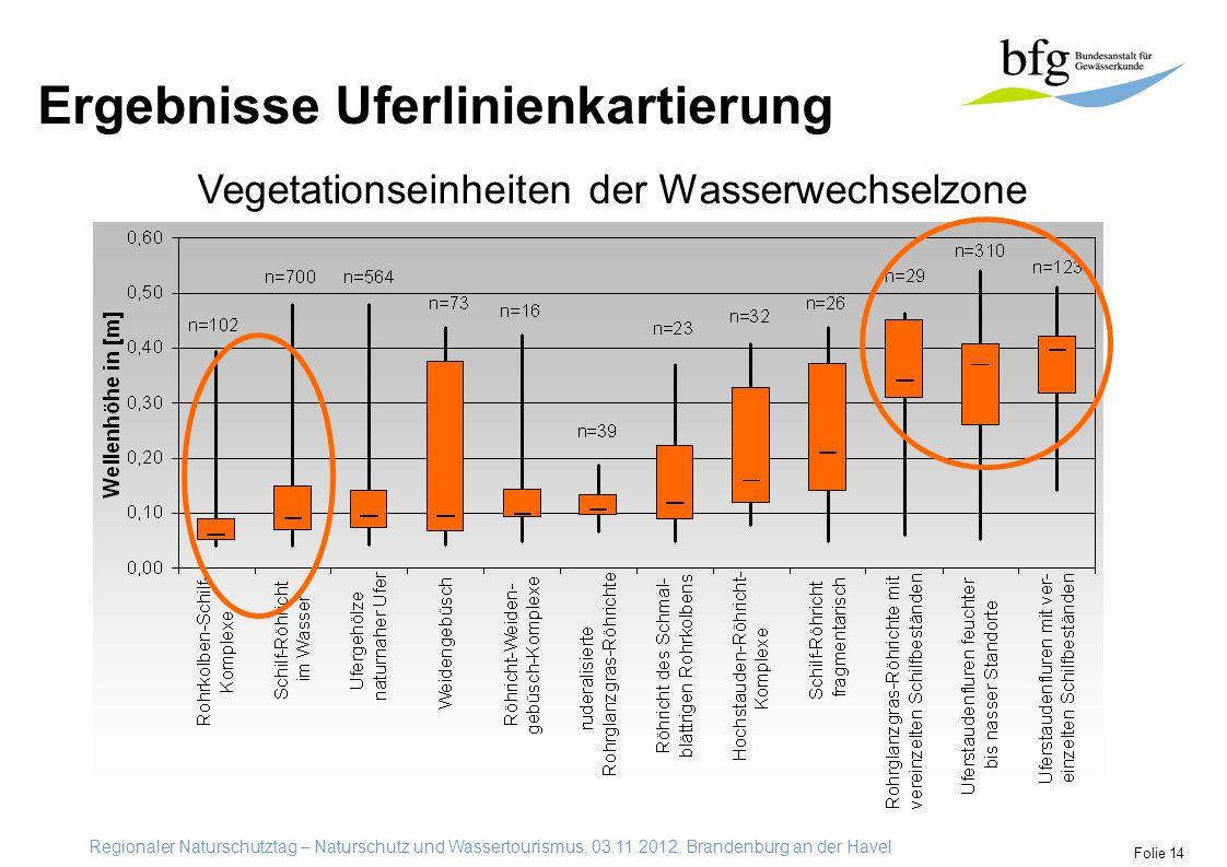 Vegetationseinheiten der Wasserwechselzone