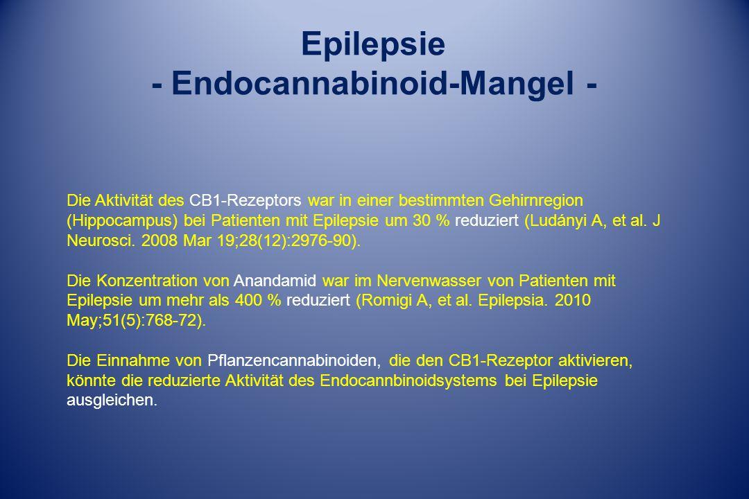 - Endocannabinoid-Mangel -