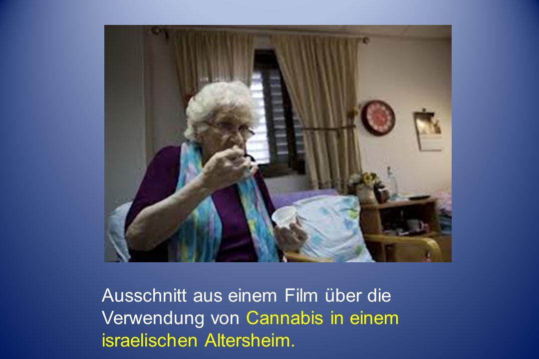 Ausschnitt aus einem Film über die Verwendung von Cannabis in einem israelischen Altersheim.