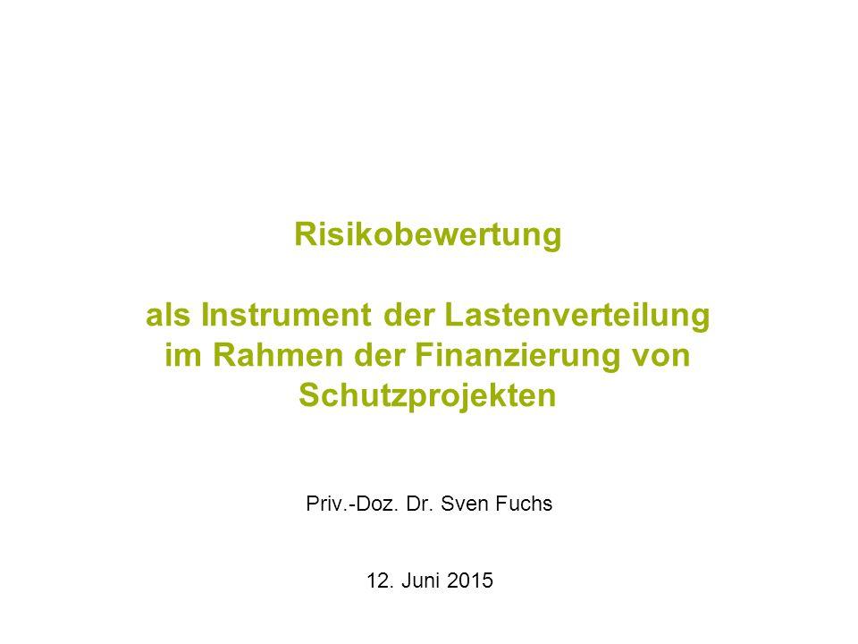 Priv.-Doz. Dr. Sven Fuchs 12. Juni 2015