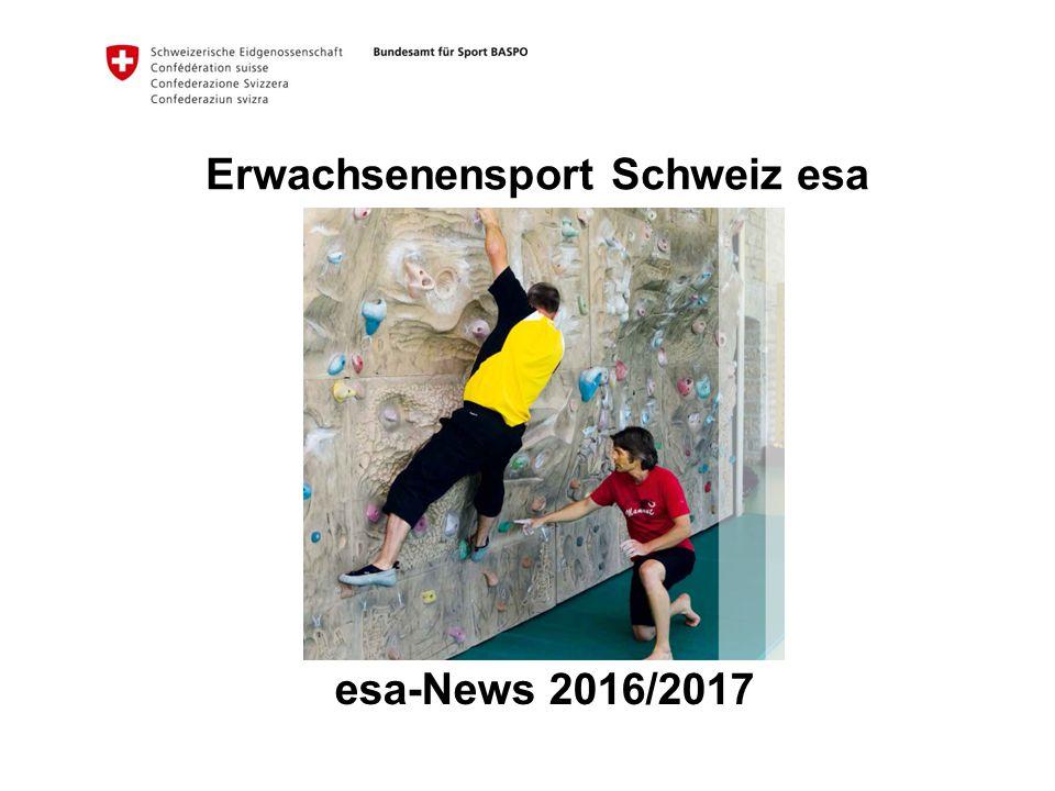 Erwachsenensport Schweiz esa