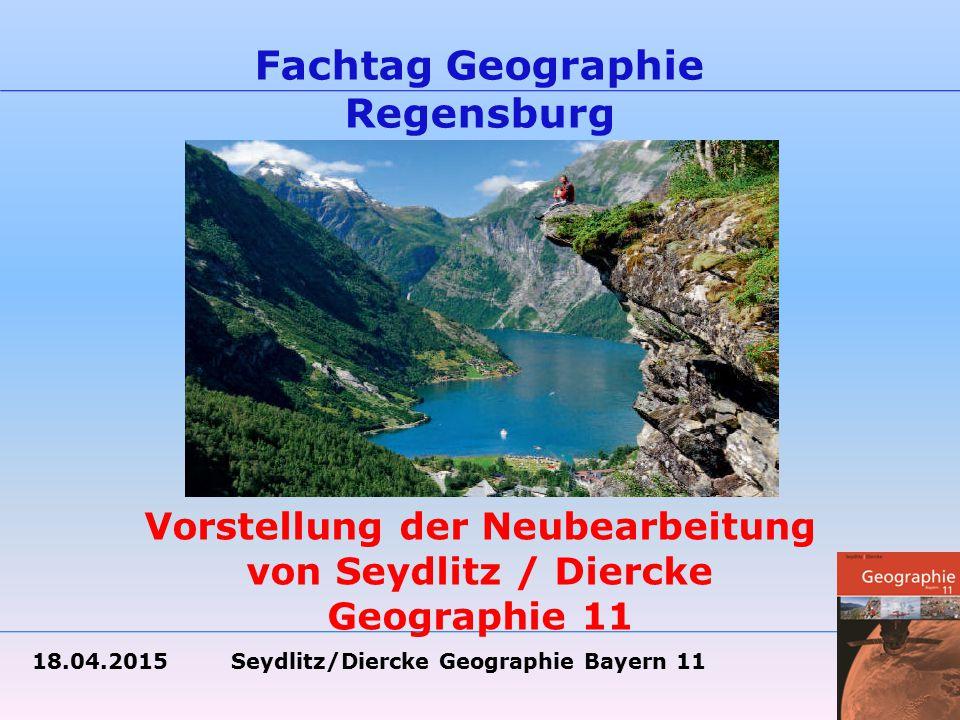 Vorstellung der Neubearbeitung von Seydlitz / Diercke Geographie 11