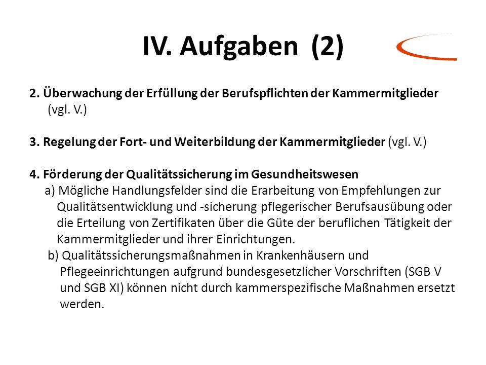 IV. Aufgaben (2)