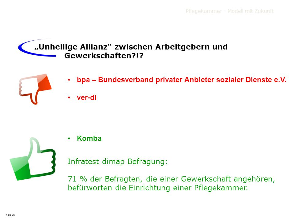 """""""Unheilige Allianz zwischen Arbeitgebern und Gewerkschaften !"""