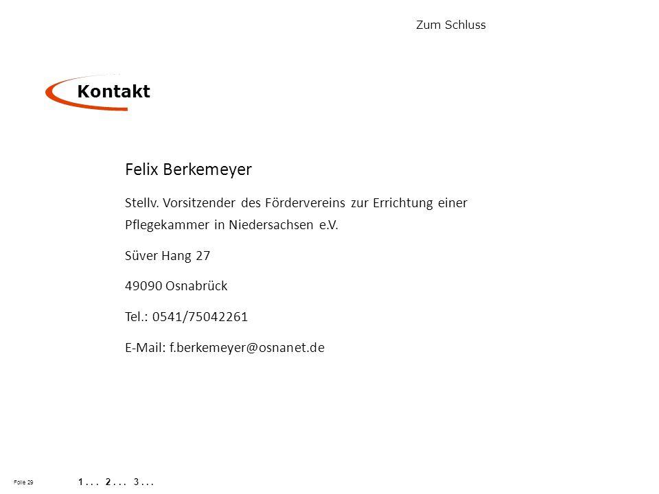 Felix Berkemeyer Kontakt