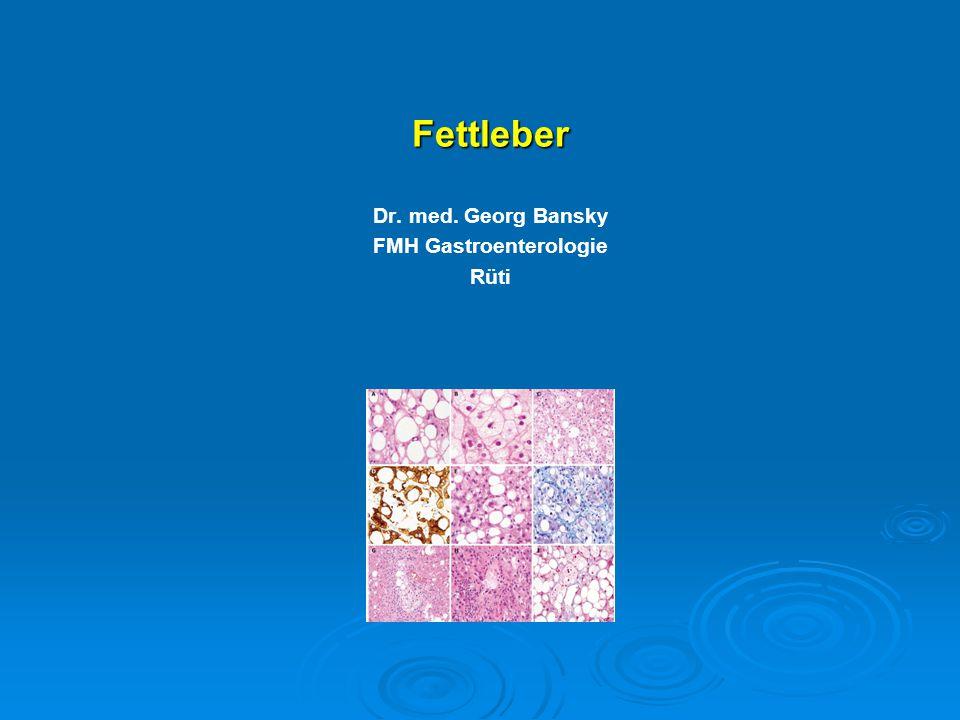 Dr. med. Georg Bansky FMH Gastroenterologie Rüti