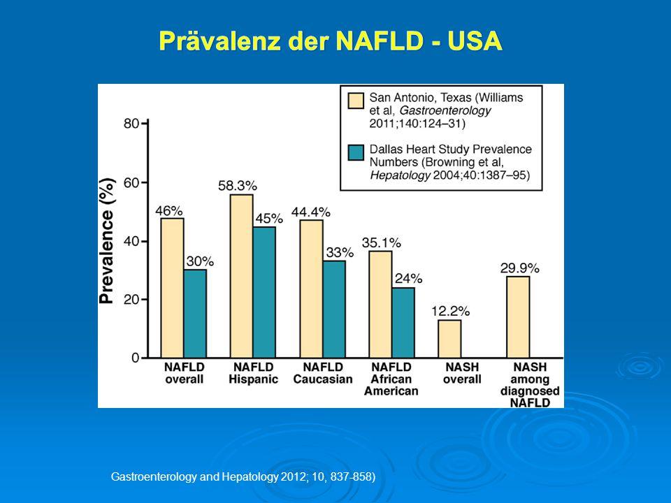 Prävalenz der NAFLD - USA