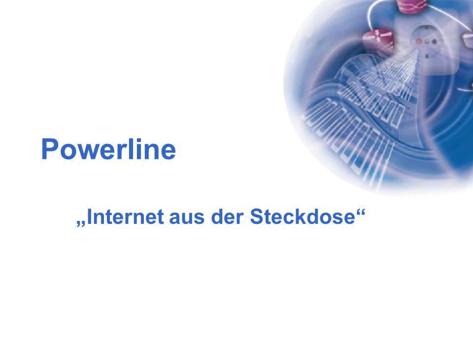 """""""Internet aus der Steckdose"""