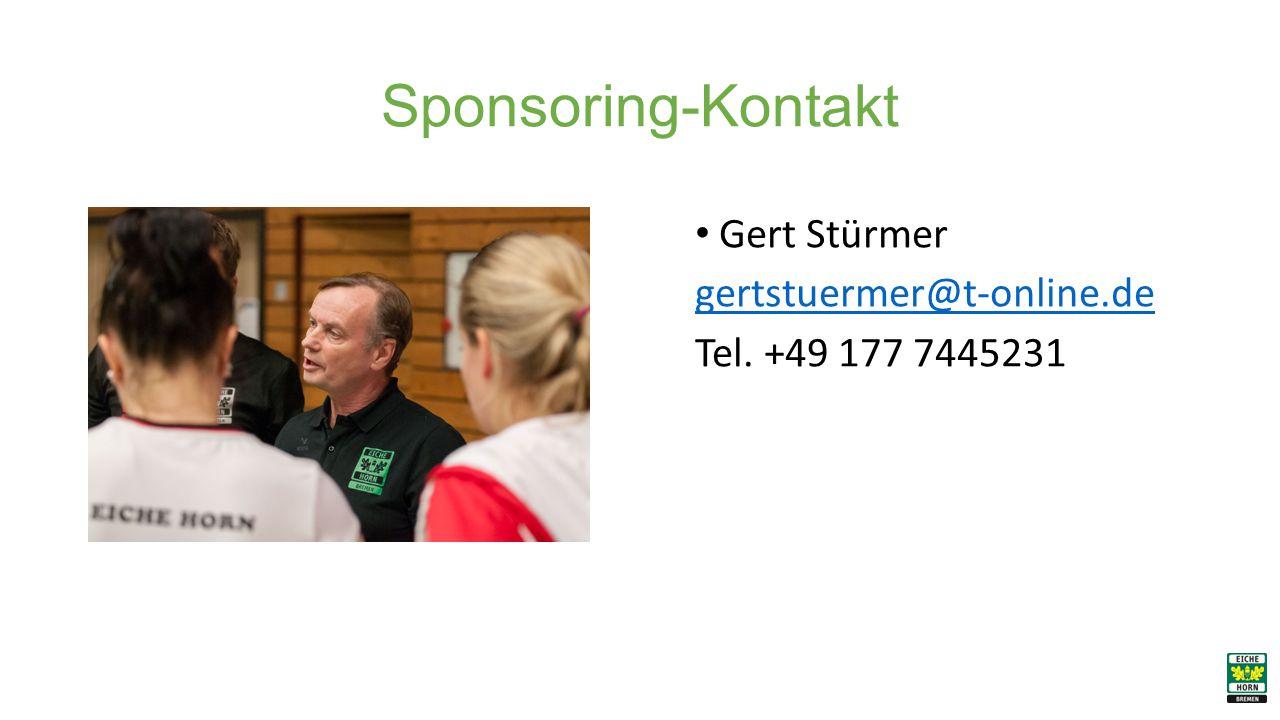 Sponsoring-Kontakt Gert Stürmer gertstuermer@t-online.de