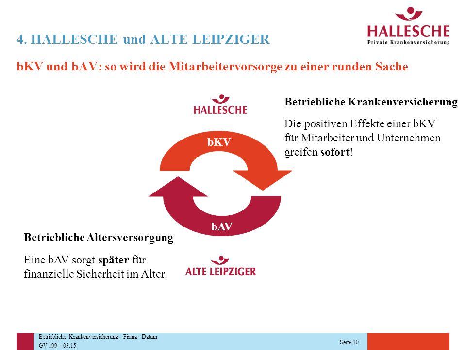 4. HALLESCHE und ALTE LEIPZIGER