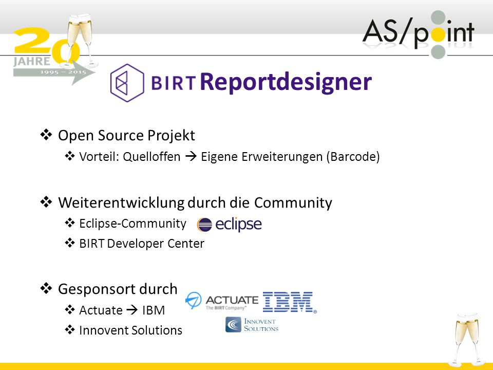 Reportdesigner Open Source Projekt