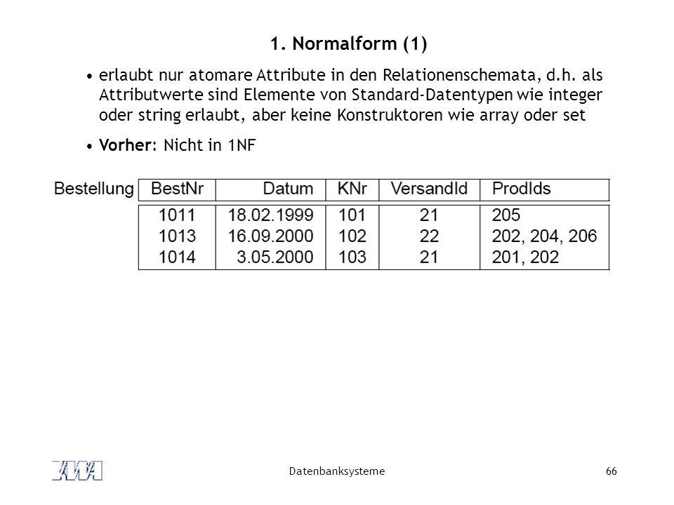 1. Normalform (1)