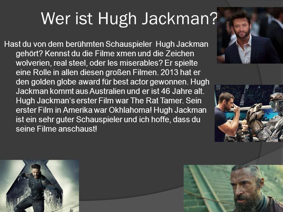 Wer ist Hugh Jackman