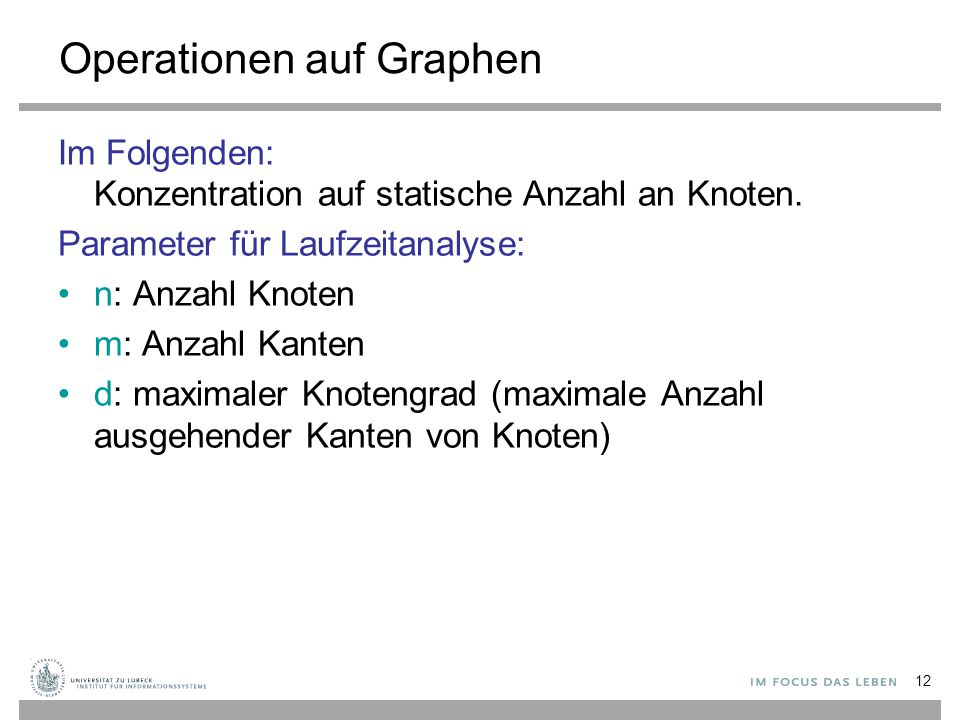 Operationen auf Graphen
