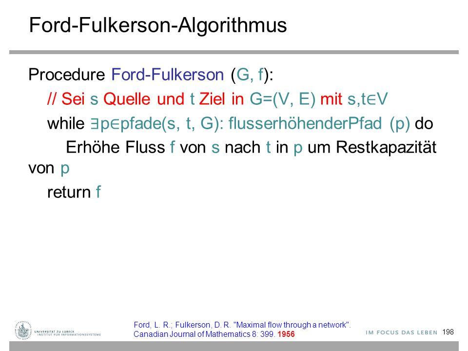 Ford-Fulkerson-Algorithmus