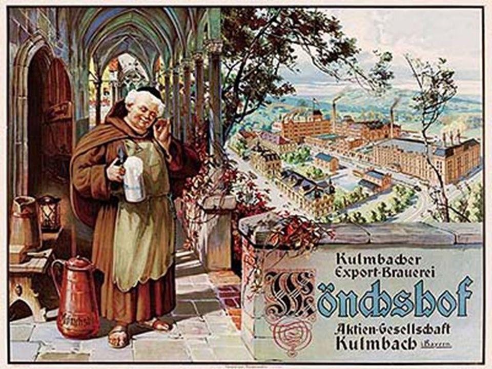 Geschichte… Sie haben ungefähr 800 v.C. angefangen das Bier herzustellen. Im Mittelalter war Bierbrauen ein Lieblingsberuf der Mönche.