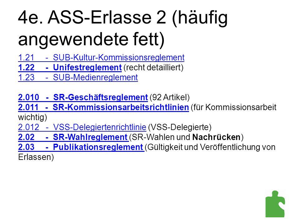 4e. ASS-Erlasse 2 (häufig angewendete fett)
