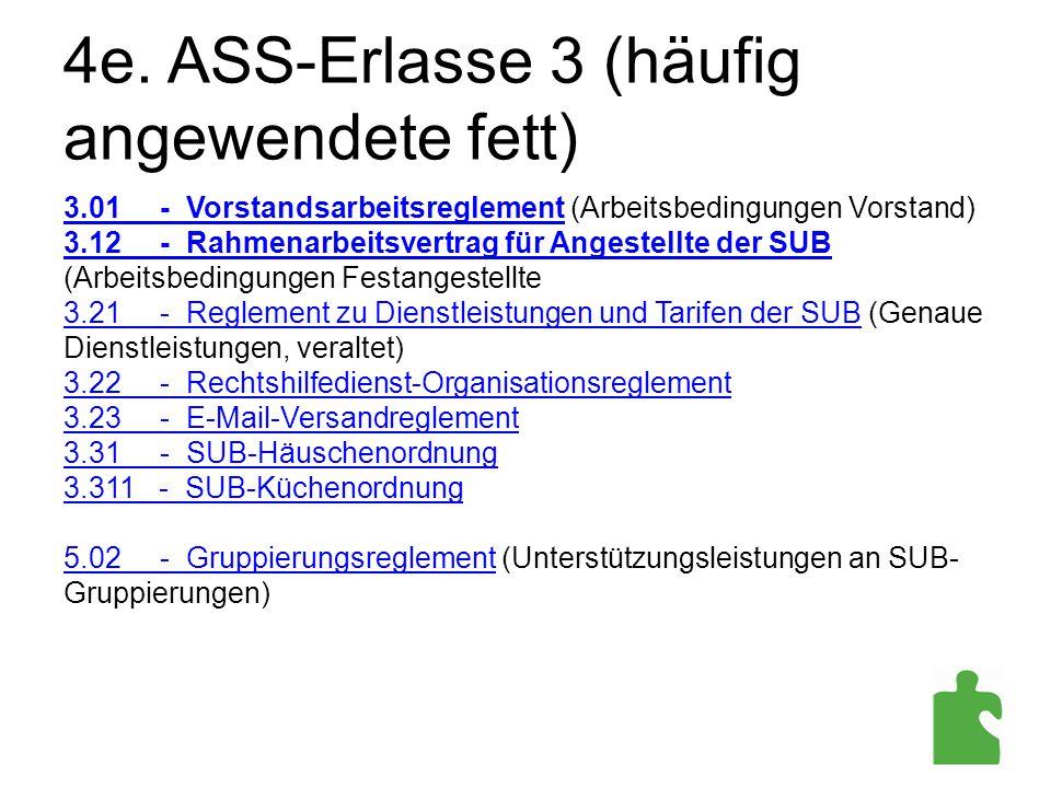 4e. ASS-Erlasse 3 (häufig angewendete fett)
