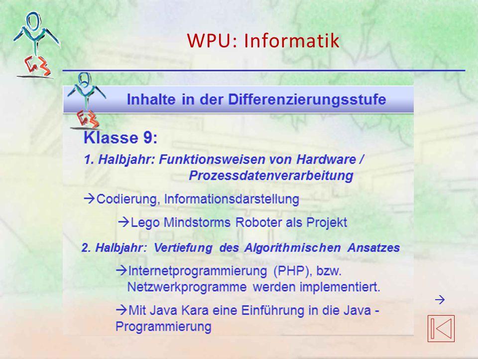 WPU: Informatik 