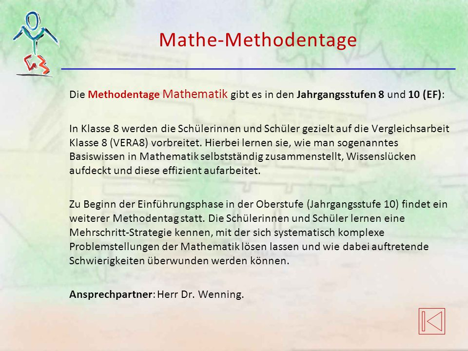 Mathe-Methodentage