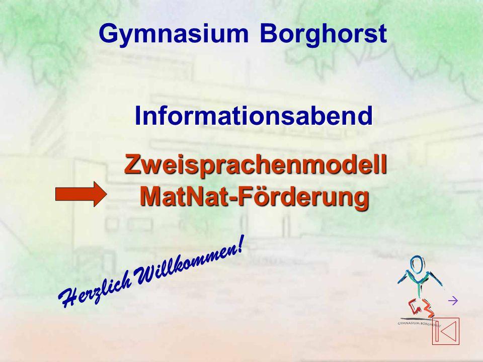 Informationsabend Zweisprachenmodell MatNat-Förderung